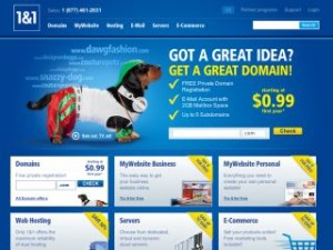 New Features Add Functionality to 1&1 MyWebsite