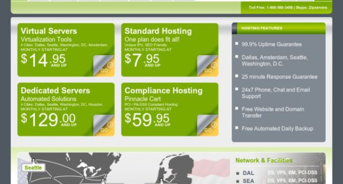 ZipServers Offers Free Server Monitoring and ZipSafe Auto Backups