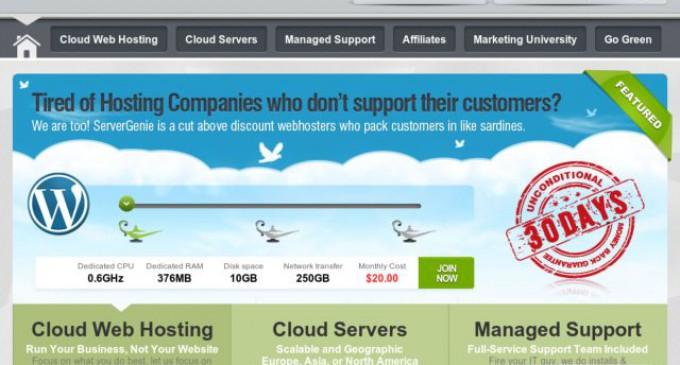 ServerGenie Launches 50% Revenue Share Program for Partners