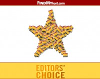 FindMyHost Releases January 2012 Editors Choice Awards