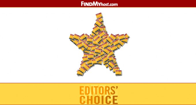 FindMyHost Releases April 2012 Editors Choice Awards