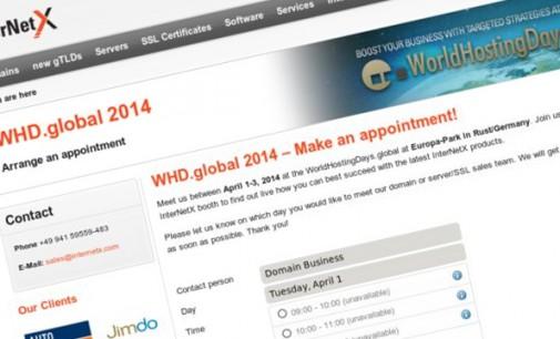 InterNetX at the WorldHostingDays 2014 – new gTLD Strategies for the Hosting Business
