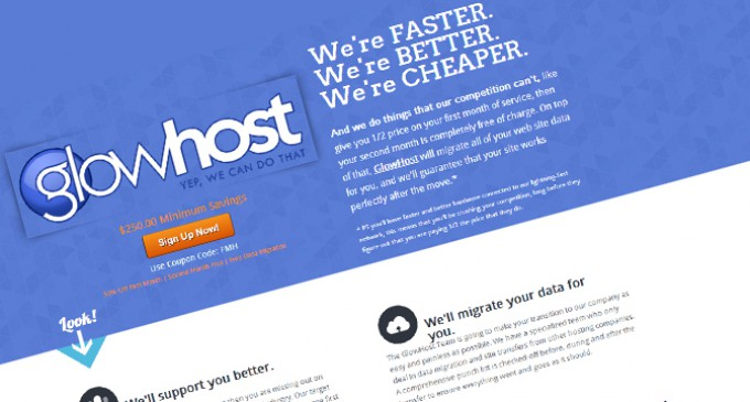 GlowHost Web Hosting Rolls Out Special Promotion On All Dedicated Servers – Unique In The Industry