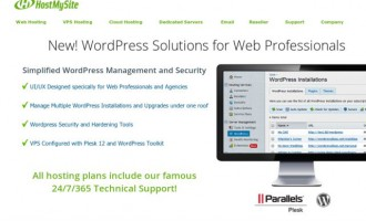 HostMySite Launches Solutions For WordPress Developers and Agencies