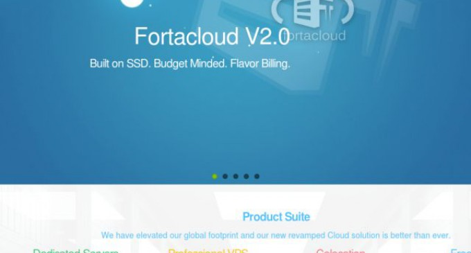 FortaCloud Soft-launches its Next Generation Cloud VPS Platform