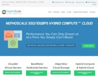 NephoScale Launches New IaaS SSD/10Gbps Hybrid Compute™ Cloud Service