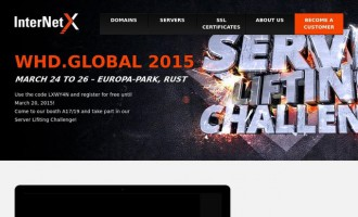 InterNetX at the WHD.global – Lift a server and win