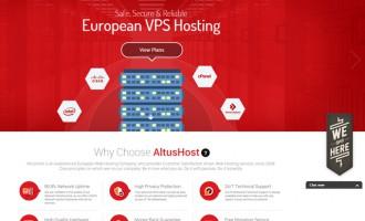 European Web Host AltusHost Launches New Website