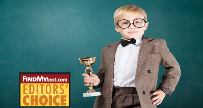 FindMyHost Releases October 2015 Editors' Choice Awards