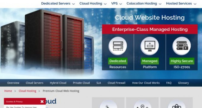 CWCS Managed Hosting Launches Premium Cloud Web Hosting