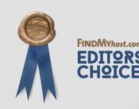 FindMyHost Releases August 2016 Editors' Choice Awards