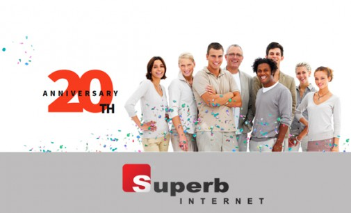Superb Internet Celebrates 20 Years in Business