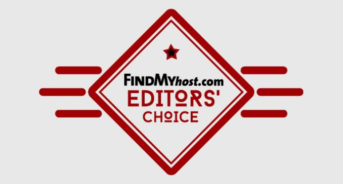 FindMyHost Releases November 2016 Editors' Choice Awards