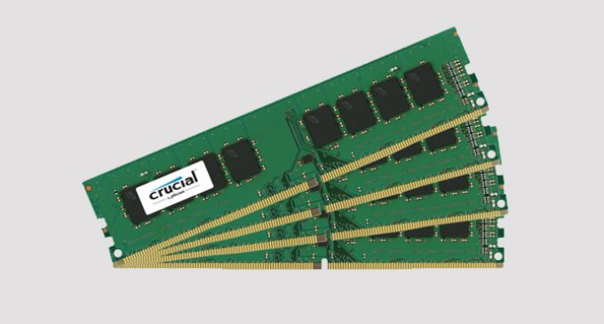 Crucial DDR4 2666MT/s DIMMs Boost Server Performance
