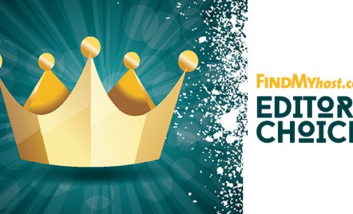 FindMyHost Releases January 2017 Editors' Choice Awards