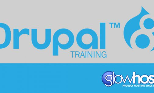 GlowHost Sponsors Drupal 8 Video Tutorial Series