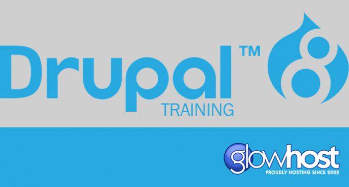GlowHost Sponsors Drupal 8 Video Tutorial Series