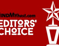 FindMyHost Releases February 2017 Editors' Choice Awards