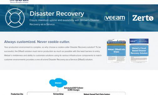 Webair Enhances Disaster Recovery Capabilities