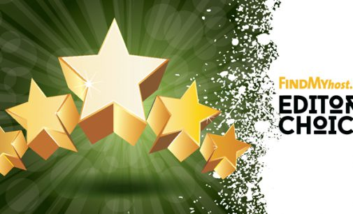 FindMyHost Releases May 2017 Editors' Choice Awards