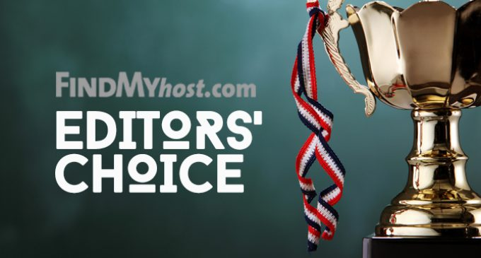 FindMyHost Releases July 2017 Editors' Choice Awards