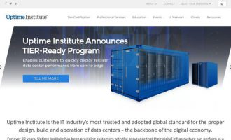 Uptime Institute Announces TIER-Ready Program for Pre-Fabricated and Modular Data Centers