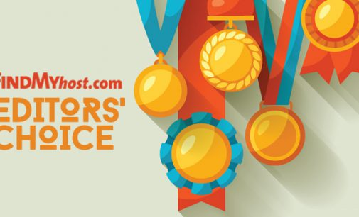 FindMyHost Releases November 2017 Editors' Choice Awards