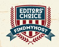 FindMyHost Releases March 2018 Editors' Choice Awards