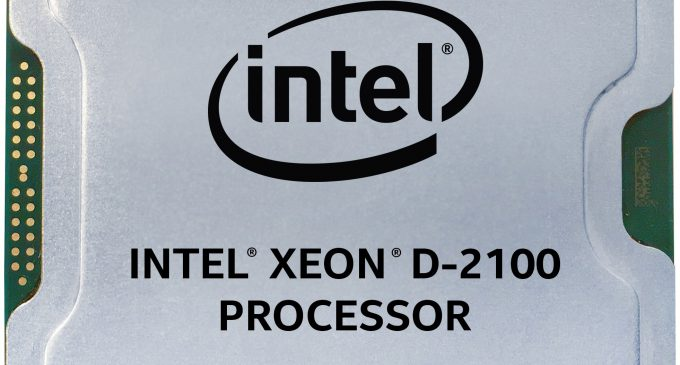 Intel Xeon D-2100 Processor Extends Intelligence to Edge, Enabling New Capabilities for Cloud, Network and Service Providers