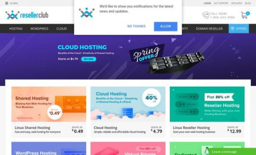 ResellerClub Launches Website Themes, Plugins and Logos for Web Designers and Developers