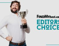 FindMyHost Releases August 2018 Editors' Choice Awards