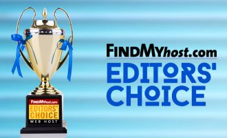 FindMyHost Releases October 2018 Editors' Choice Awards