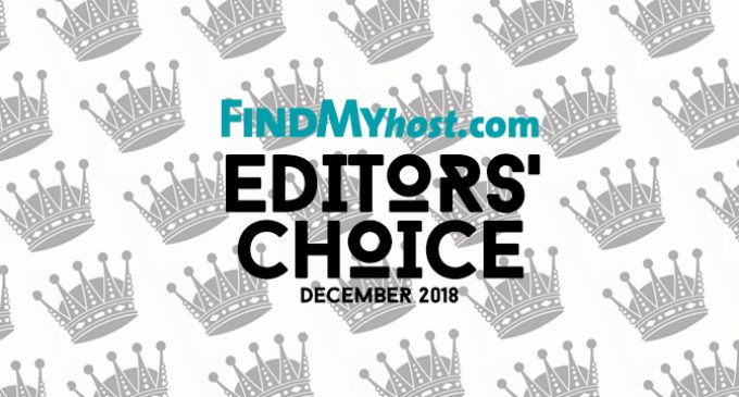 FindMyHost Releases Final 2018 Editors' Choice Awards