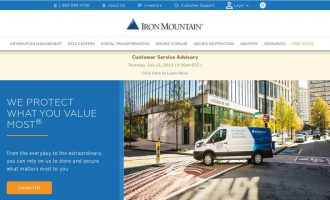 Iron Mountain Expands Data Services to Support Amazon Web Services