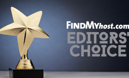 FindMyHost Releases November 2019 Editors' Choice Awards