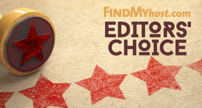 FindMyHost Releases September 2019 Editors' Choice Awards