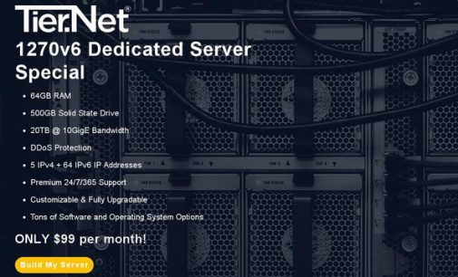 Tier.Net Launches 1270v6 Dedicated Server