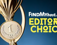FindMyHost Releases February 2020 Editors' Choice Awards