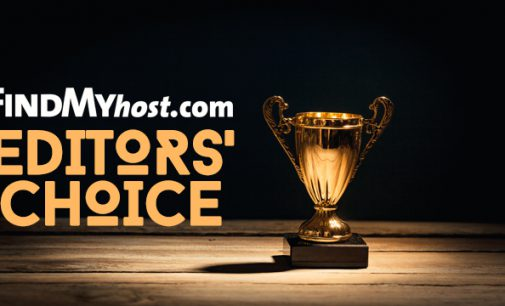 FindMyHost Releases May 2020 Editors' Choice Awards