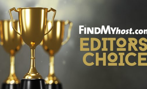 FindMyHost Releases September 2020 Editors' Choice Awards